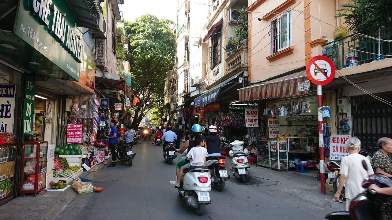 ベトナムの路地